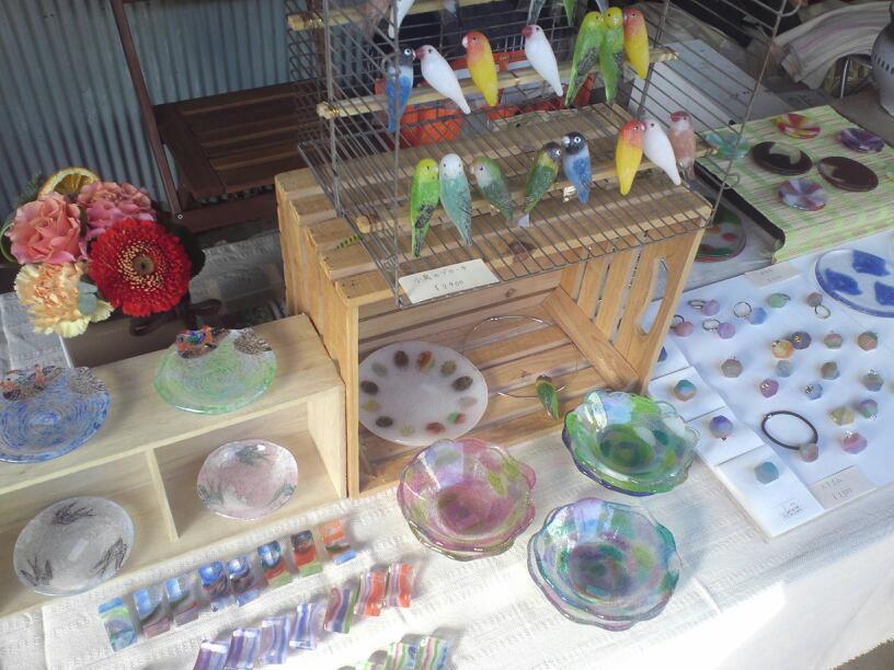 アートクラフト手づくり市in織物市場